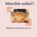 macchie solari centro med